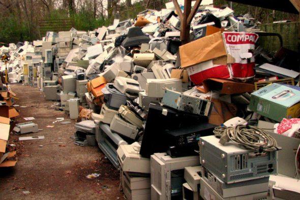 Elektronica-afval snelgroeiend probleem